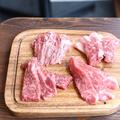 料理メニュー写真牛焼肉3種セット