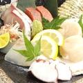 料理メニュー写真本日の特選造り五種盛