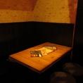 4名までOKのテーブル席は少人数での女子会利用などにぴったり◎お洒落な店内、落ち着いた雰囲気空間が大好評!!