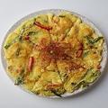 料理メニュー写真海鮮ネギチヂミ