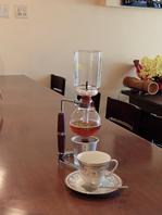 本格式サイフォンコーヒー