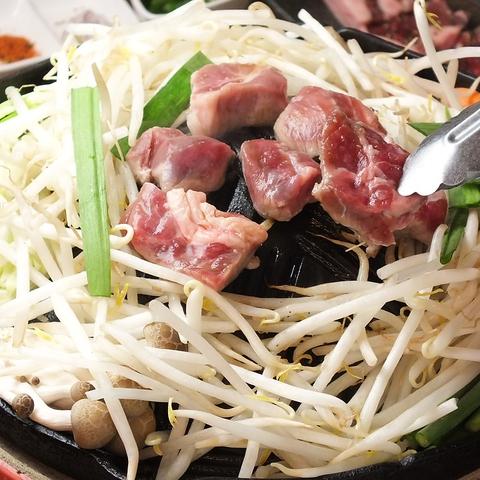 【ジンギスカン専門店】ラム肉食べ放題3500円~♪ラムサムギョプサルセット1850円♪