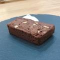 料理メニュー写真キャラメリゼしたナッツ入りのチョコレートのテリーヌ