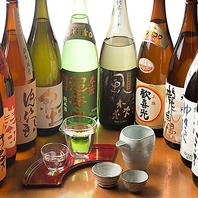 奈良県を中心とした、地酒が豊富にございます。