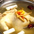料理メニュー写真タッハンマリ (地鶏の丸ごと鍋)