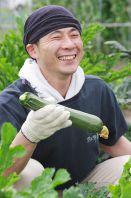 榑木野スタッフが収穫!