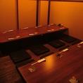 最大22名までご利用いただける個室。各種宴会にオススメです。
