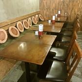 最大12名様用テーブル席