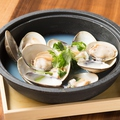 料理メニュー写真桑名産 蛤の酒蒸し