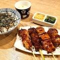 料理メニュー写真究極の焼き鳥定食