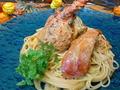 料理メニュー写真伊勢海老のパスタ