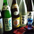 日本酒も多数ご用意しております。