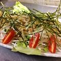 料理メニュー写真大根とツナのサラダ(醤油ベースのドレッシング)