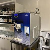 イタリア製ソフトクリームマシン◎倉島乳業のミルク使用
