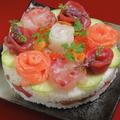料理メニュー写真《要予約》寿司ケーキ (1名様用)