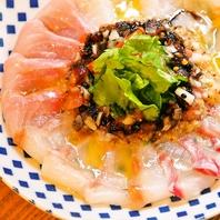 鮮魚のカルパッチョ など北の味覚満喫!