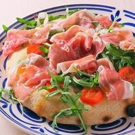 【フォカッチャ】ピッツァとパスタが美味♪