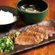 仙台名物「牛タン定食」炭火で炙り香ばしい牛タン定食