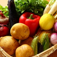 産地直送の新鮮な有機野菜を贅沢に使用しております。季節ごとに選び抜かれた旬の野菜は絶品★