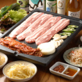 ◆自起屋コース(全8品)2500円【料理7品+デザート】韓国料理を気軽にお楽しみ頂けるコースです。メインはサムギョプサルになります。とにかくお手軽に韓国料理を楽しみたい!そんなお客様におすすめなのがこちらのコース!コスパがいいのにしっかりと韓国料理をお楽しみ頂けます♪全コース+1,500円で飲み放題もご利用OK★