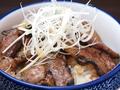 料理メニュー写真十勝豚丼