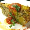 料理メニュー写真スペインオムレツ ~季節のソースで~