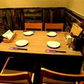 貸切以外のときは4名テーブル×6席でご用意してます。