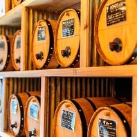 <たぶん日本初>樽ワイン100種・樽生ビール4種飲み放題