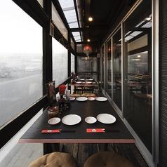オープンなテラス席☆冷暖房完備!個室的雰囲気にテラス席の常連さんもいますよ!!