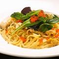 料理メニュー写真ウニのクリームパスタ
