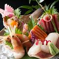 料理メニュー写真道産鮮魚のお刺身~本日の3点盛り合わせ