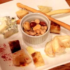 4種のチーズの盛り合せ