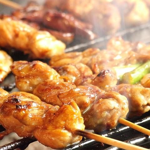 JR町田駅徒歩2分!焼き鳥食べ放題♪フード200種&ドリンク200種★お腹いっぱいどうぞ