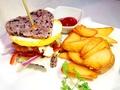 料理メニュー写真78胸キュンライスバーガー