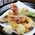 料理メニュー写真天ぷら感激盛り