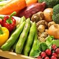 自社農園や契約農家で栽培された旬の野菜を活かした安心・安全なヘルシーメニューは絶品♪野菜初心者の方から、ベジタリアンまで楽しめるお店
