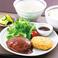 牛たんハンバーグ&牛たんコロッケ定食