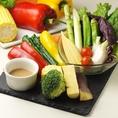 お肉だけでなく、お野菜も新鮮☆