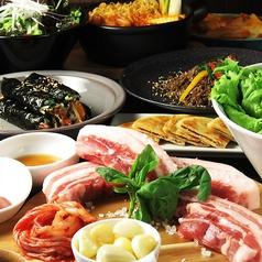 本場韓国料理 カンナム スタイル gangnam styleのコース写真