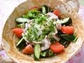 料理メニュー写真美濃ヘルシーポークの冷しゃぶサラダ