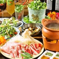 熱帯アジア食堂 2階のぞうさん 国分寺店のコース写真