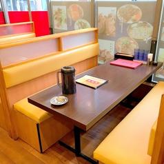 6名様テーブルです。