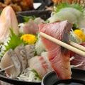 料理メニュー写真おまかせ鮮魚5点盛り