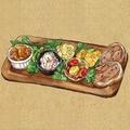 料理メニュー写真Love タパス7種盛り