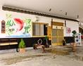 ◆華やかな店頭◆お客様を出迎える明るい入口。海鮮が食べたくなる店。