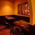 12名様~16名様で使えるテーブルの個室。会社宴会、女子会、同窓会などに最適です!