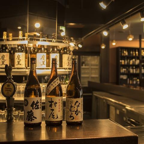 本格的な和食料理をリーズナブルに。焼酎・日本酒の品揃えも豊富。