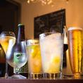 【豊富なドリンク】おススメは季節に合わせたRISEオリジナルのカクテル!さらにグラスワインやボトルワインも多数ご用意しております★