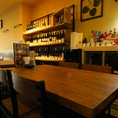 【6名テーブル】少人数の宴会にはぴったりの空間♪※全席喫煙可能です!