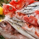 雅じゃぽの料理の主役の一つ。活きた魚介。